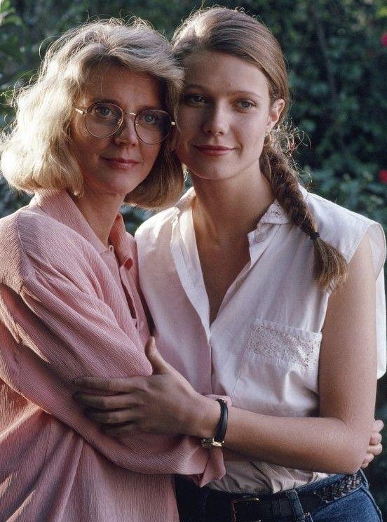 Blythe Danner with daughter Gwyneth Paltrow Gwyneth Paltrow