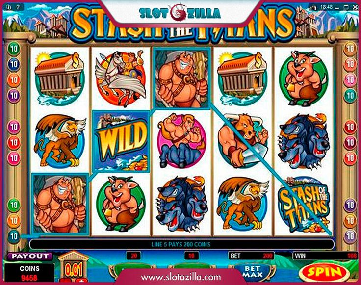 Stash of the Titans Slot - Play Online for Free Instantly
