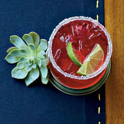 Hibiscus-Mint Margaritas | Recipe
