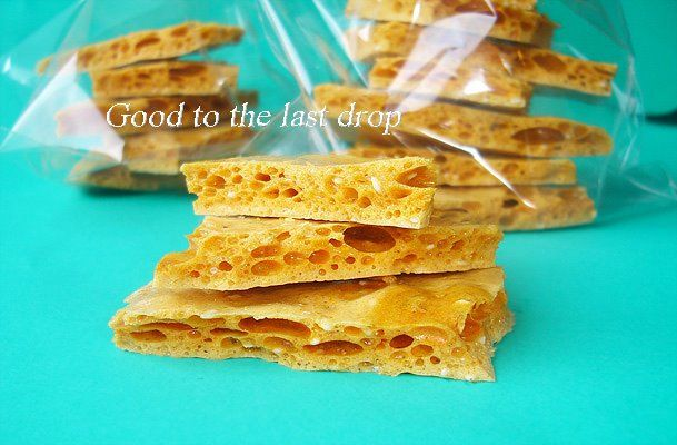 Honeycomb Brittle | Good to the last drop - recipes from my blog ...