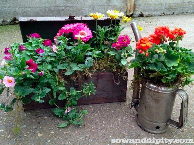 Garden Junk Man Style