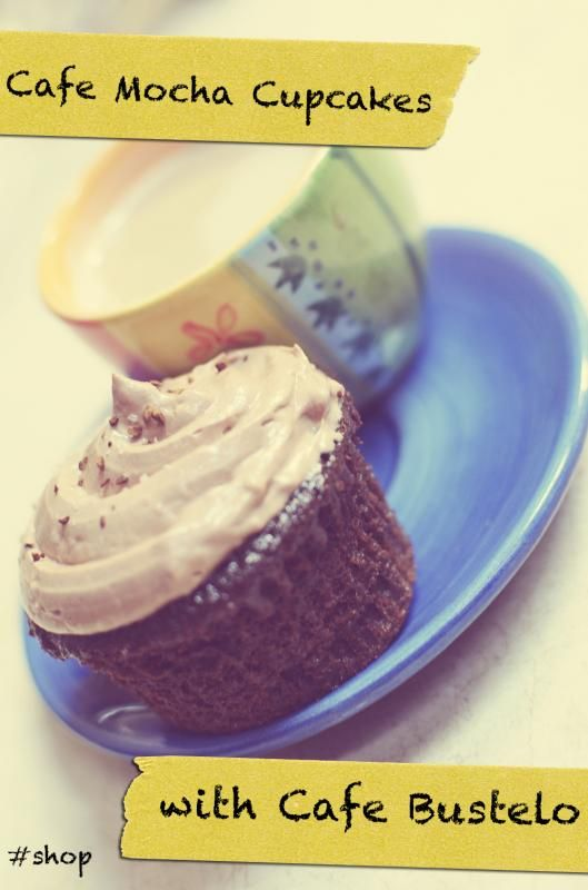 Café Mocha Cupcake Recipe with Café Bustelo #cbias #shop # ...