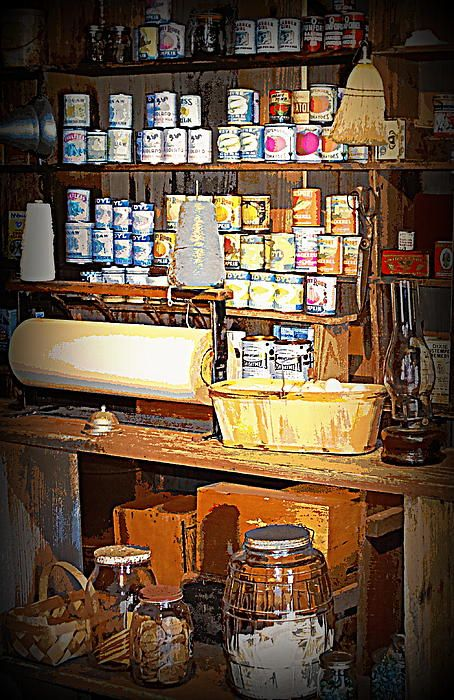 Ole General Store Dudley Farms 1 Print By Sheri Mcleroy