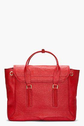 red handbag on sale