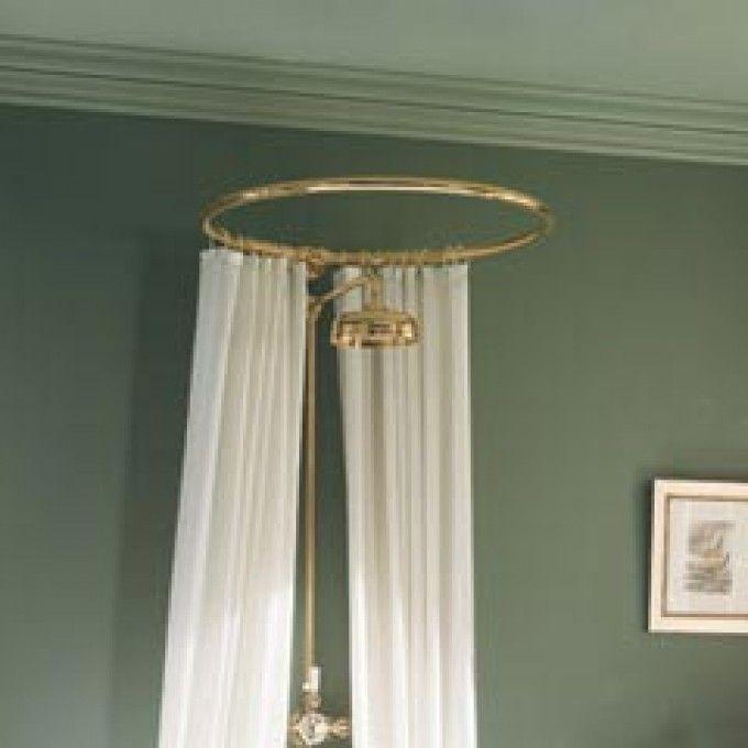 ... Myson Heavy Duty Circular Shower Rods - Shower Curtain Rods - Bathroom