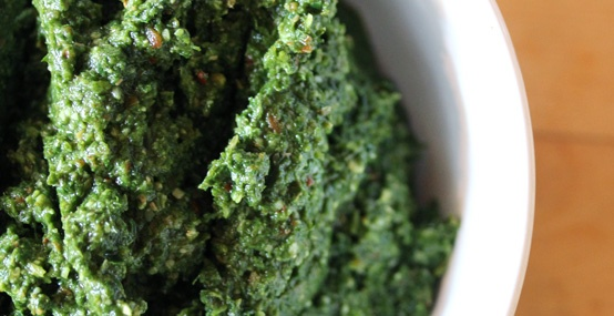 collard pesto. | for the taste buds | Pinterest