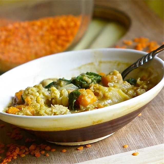 Red Lentil Curry | Yummy dreams for the belly. | Pinterest