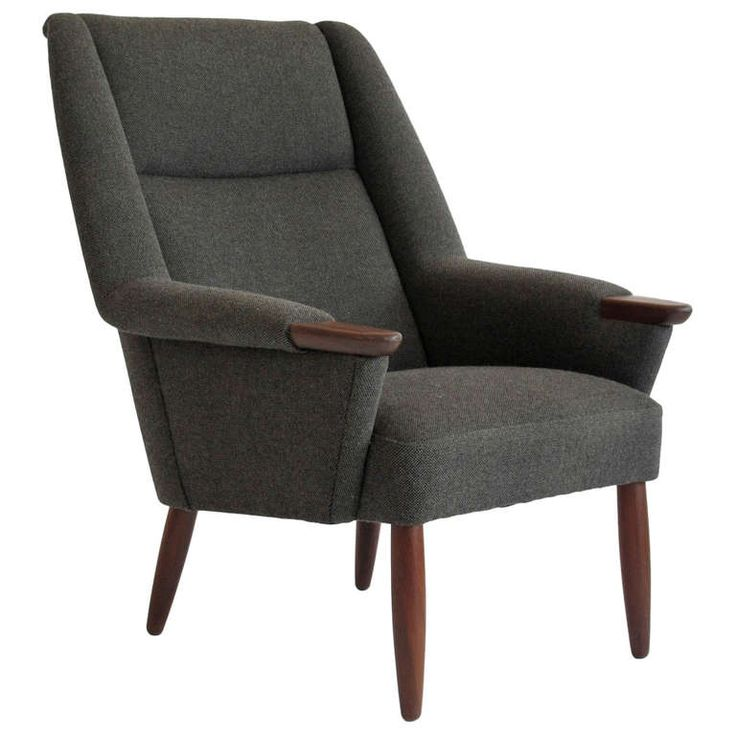 Danish modern high back lounge chair chair the love pinterest