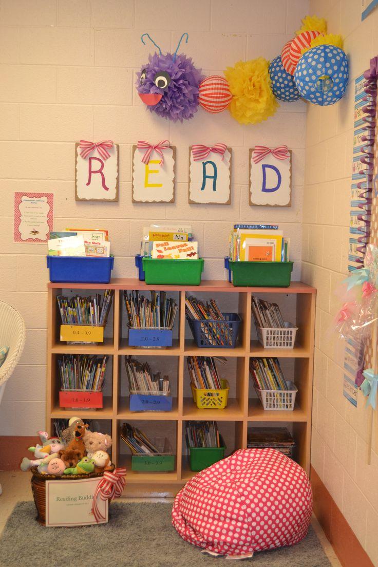Reading Area :-) | 1st Grade Fabulous | Pinterest