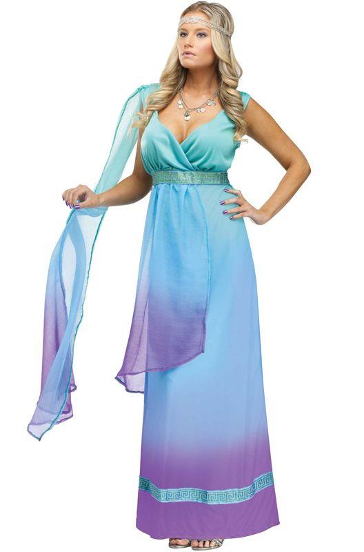 Sea Goddess Calypso Costume Goddess minerva adult costume - $39.95 ...