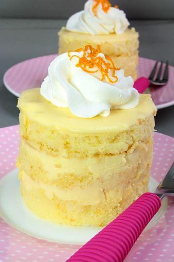 Orange Cream Cake!! | For the Love of Cake | Pinterest