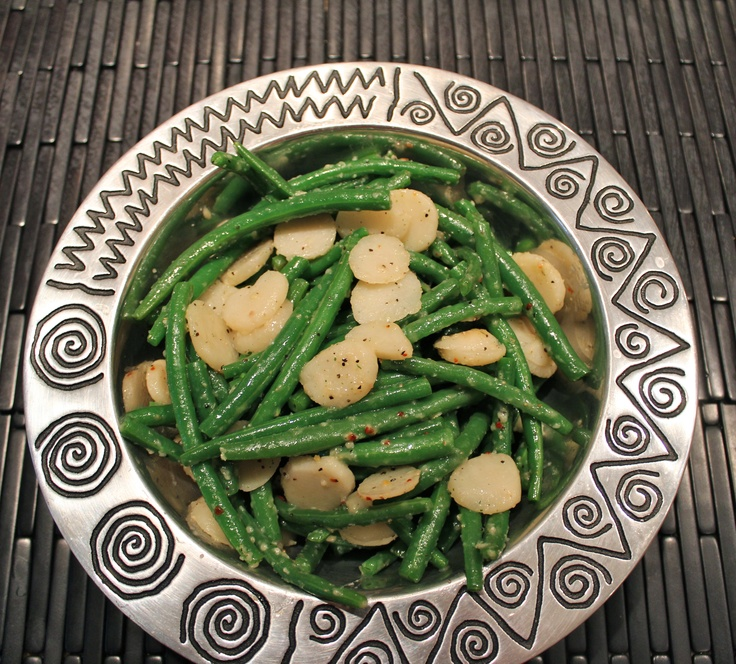 Green Beans with Water Chestnuts | This is for the belly | Pinterest