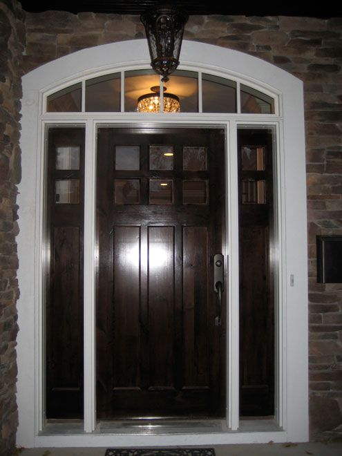 Pin by amy lees on ideas for the house pinterest for Residential front doors