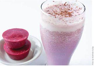 Dairy-Free Raspberry Strawberry Smoothie Cups