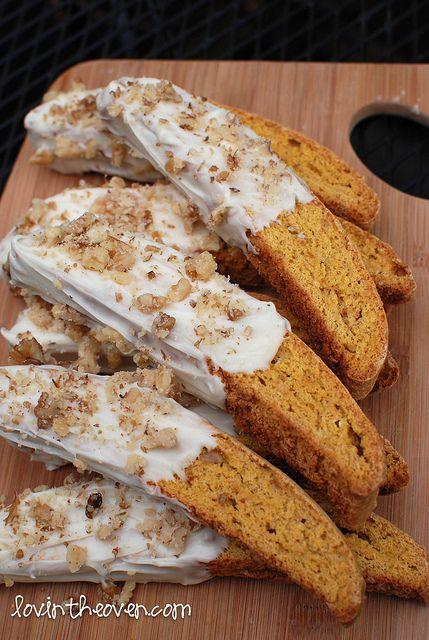 pumpkin biscotti | Food...Food...Food!!!!! | Pinterest