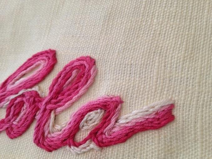 Wonderful hand embroidery needle names makaroka