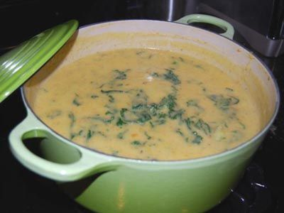 kale and potato soup