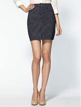 DV by Dolce Vita Cader Dot Print Skirt