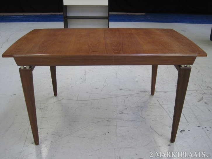 125 euro Marktplaats.nl > Teak uitschuifbare tafel retro vintage ...