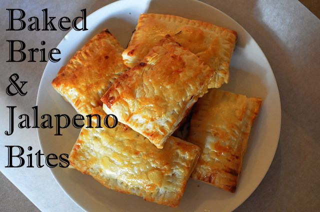 Baked Brie and Jalapeno Bites | Food Fun For All Sizes | Pinterest