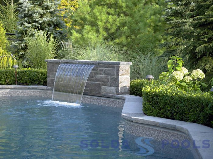 Landscaping around the pool joanne pinterest for Landscaping around pool