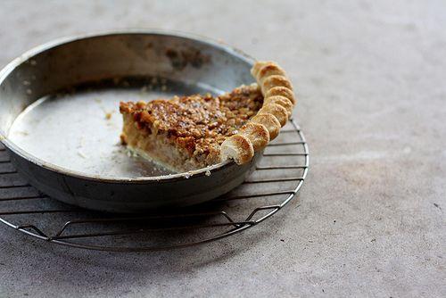 Maple Walnut Custard Pie from @tara o'brady (Seven Spoons)
