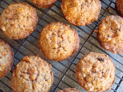 Cape Cod Apple Nut Carrot Muffins | The Sisters Cafe