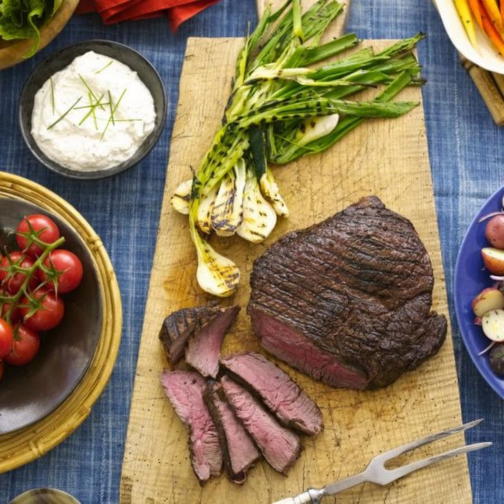 London Broil with Creamy Horseradish Sauce Made this! Delicious but ...