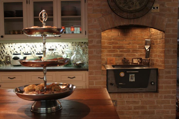 Kitchen Design With Red Brick Oven Home Decor We Love