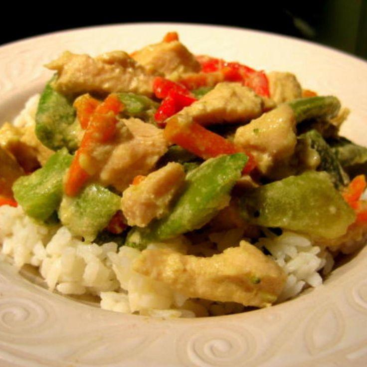 Thai Coconut Curry Chicken   Meals & Sides   Pinterest