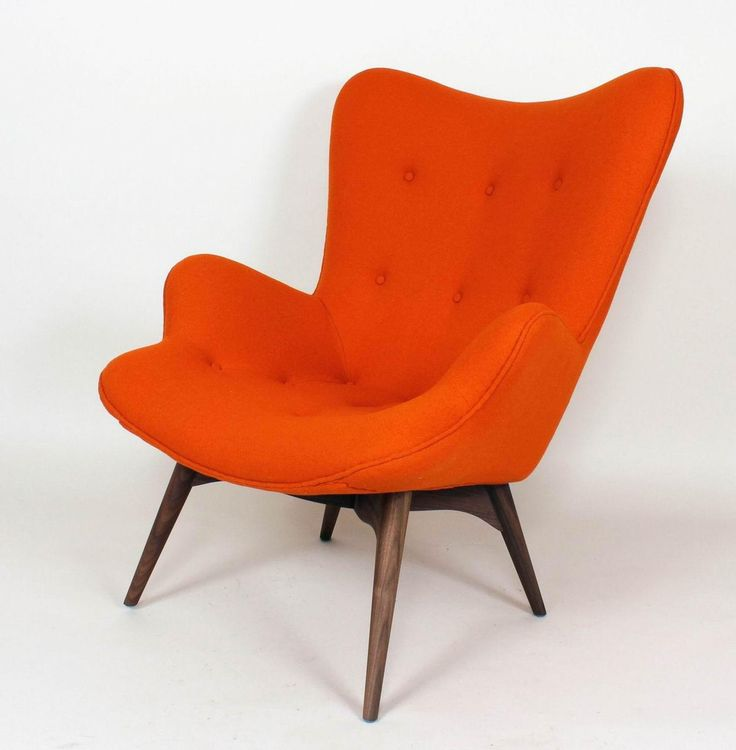 Teddy Bear Chair Color Orange Wool Accent Chairs