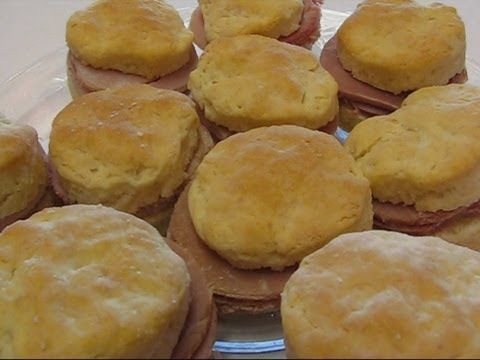 Betty's Home-Cured Country Ham Biscuits | bettyskitchen | Pinterest