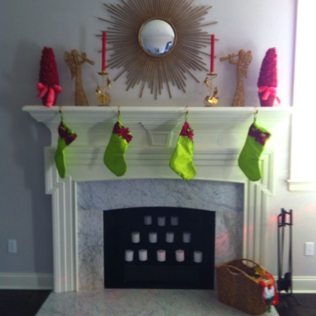 christmas simple home decor pinterest