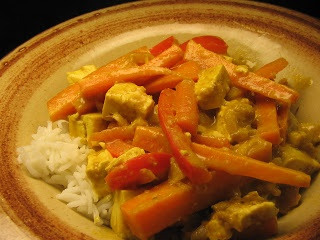 Panang Tofu Curry | Food to Make | Pinterest