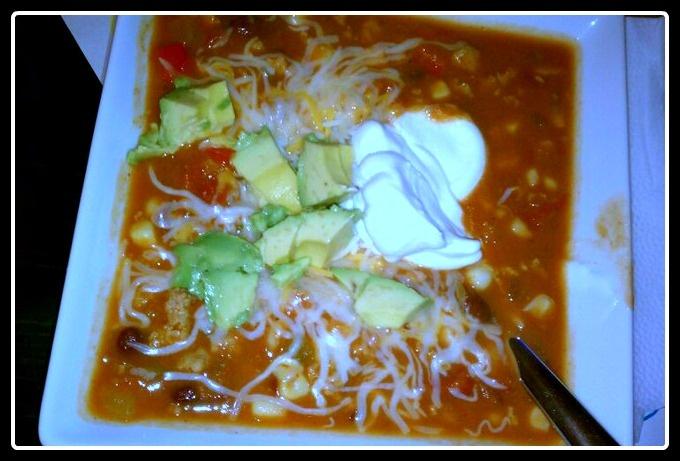 Turkey Chili Taco Soup on MyRecipeMagic.com