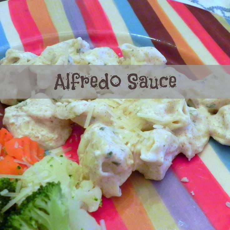 Quick and Easy Alfredo Sauce | Recipes | Pinterest