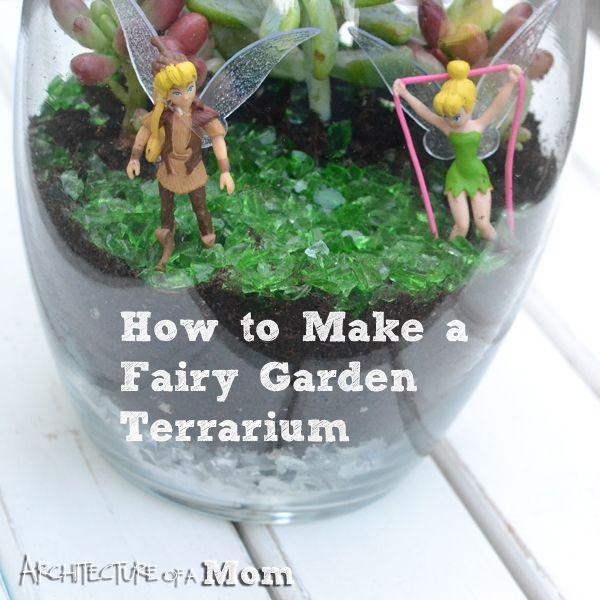 Fairy Garden Terrarium A MiracleGroProject ad