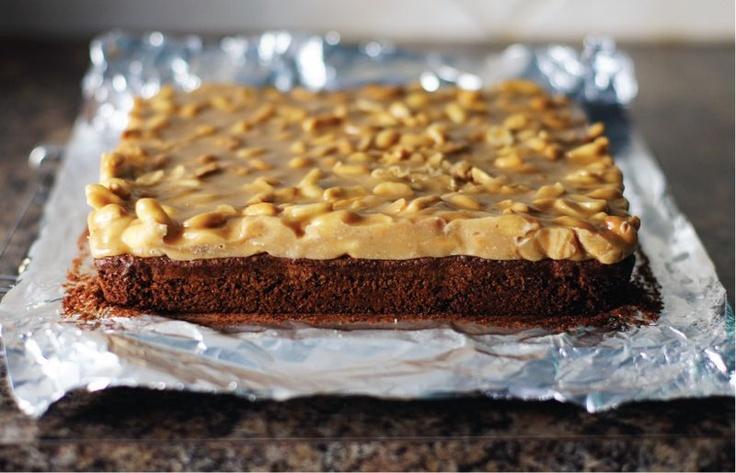 Peanut Praline Brownies | Yummy for my Tummy | Pinterest
