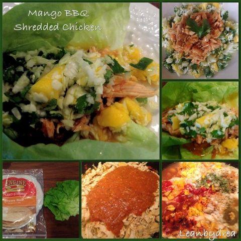 Chicken Mango Slaw Recipe — Dishmaps