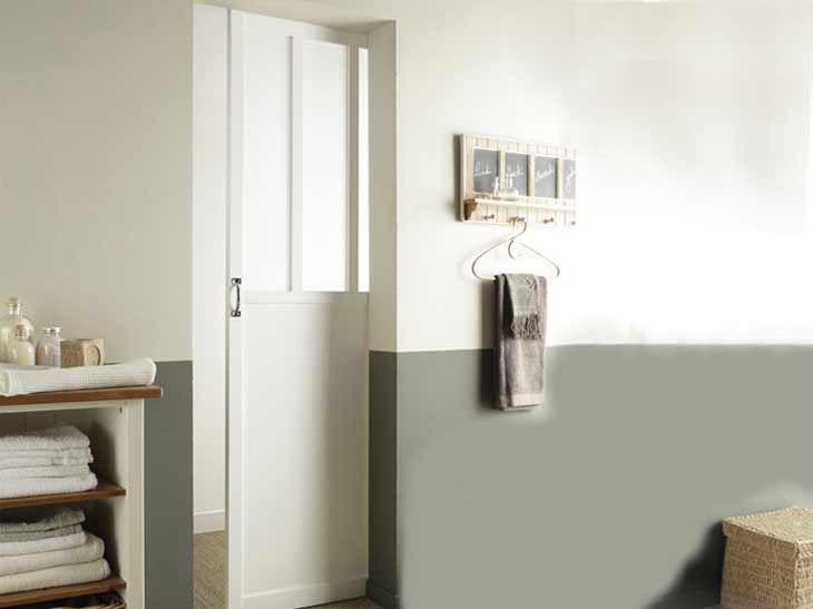 Porte salle de bain d co cabane p cheur pinterest - Leroymerlin salle de bain ...