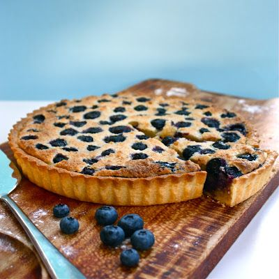 blueberry frangipane tart | Sweet indulgence | Pinterest
