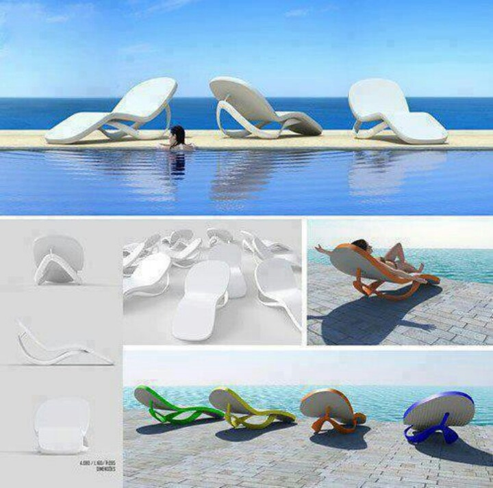 Flip flop lounge chairs Things for the House