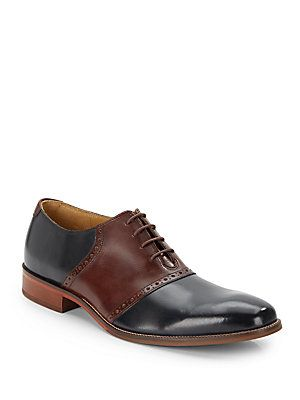 Williams Two-Tone Leather Oxfords