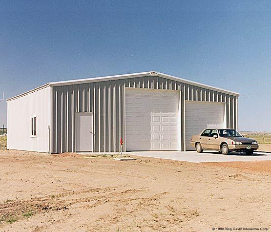 Residential steel buildings garages shop pinterest for Modern metal building homes