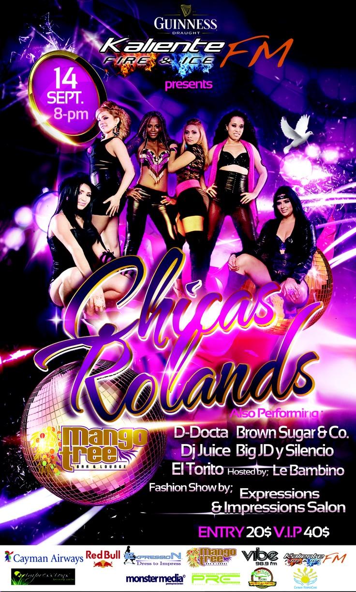 Las chicas rolands sept 2012 grand cayman events pinterest