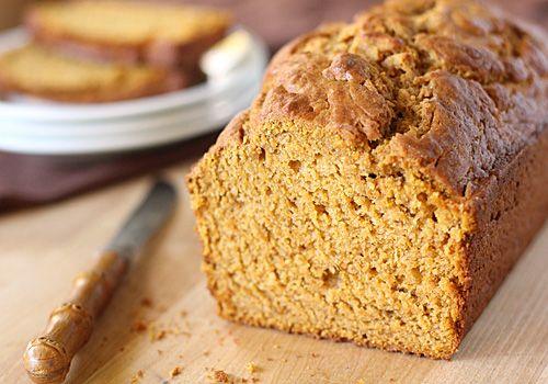 Mmmm low-fat pumpkin banana bread :) Definitely will give a shot ...