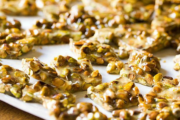 pistachio brittle @ brown eyed baker