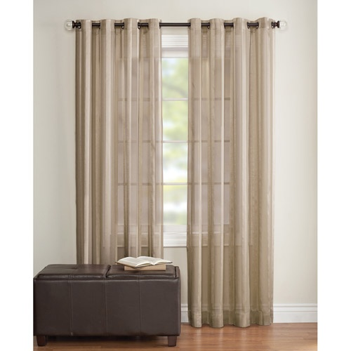 Swag Curtains For Bedroom Rod Pocket Sheer Curtain