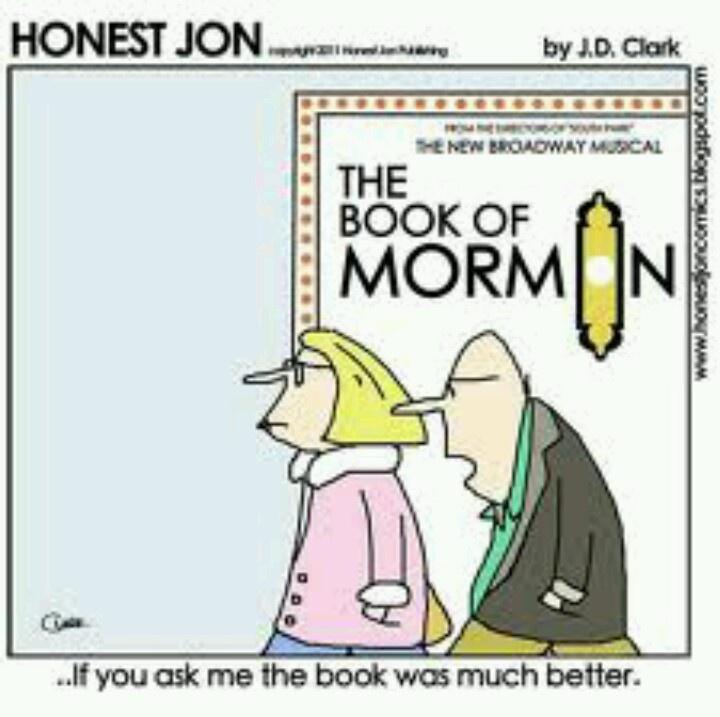 book of mormon musical pdf