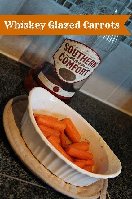 Whiskey Glazed Carrots | For Thee Blog | Pinterest